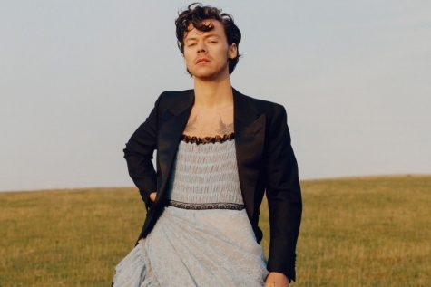 Harry Styles for Vogue Magazine Photo By: Tyler Mitchell