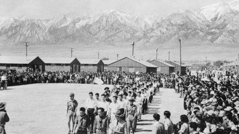 Picture of a Japanese Internment Camp.