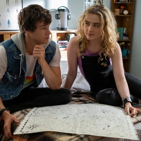 Kyle Allen and Kathryn Newton