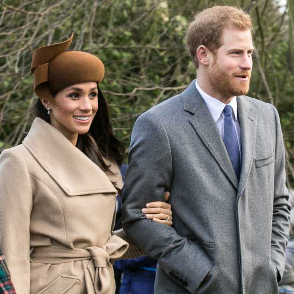 Meghan and Harry in the UK Christmas 2017