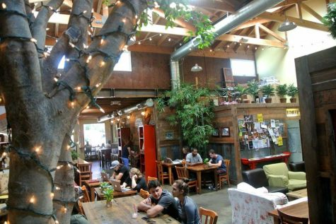 Along with its iconic live music, Republic of Pie's rustic decor, artisan coffee, and no-stress feel make it the ideal place to finish up homework, meet up with friends, or start writing your best-selling novel. Photo credit: republicofpie.com